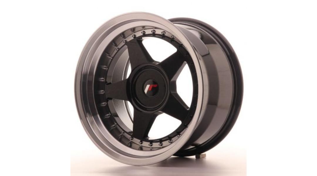 Japan Racing JR6 17x10 5x100 ET20 Glossy Black