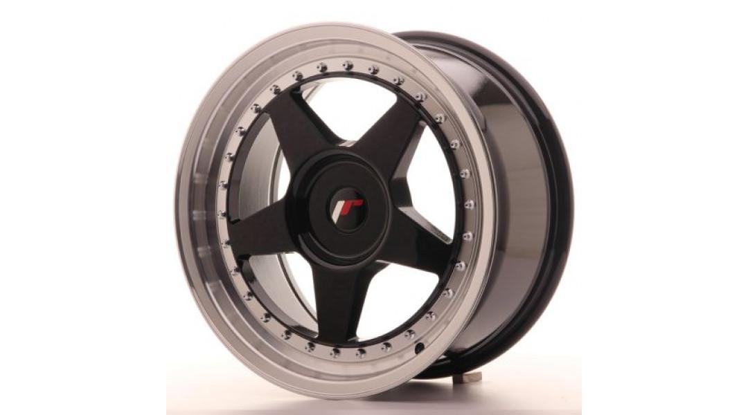 Japan Racing JR6 17x8 5x100 ET20 Glossy Black