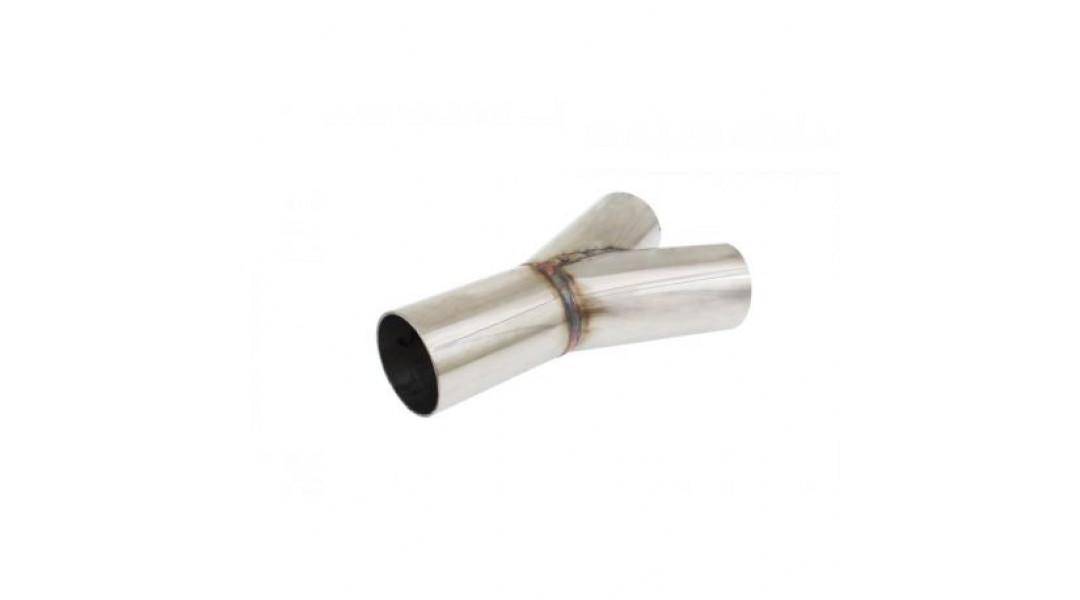 Редукция 45° за ауспух от неръждаема стомана 60/60mm