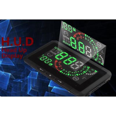 """HUD Display 4"""" - Модул за проектиране върху предно стъкло"""