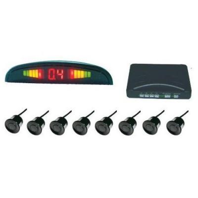 Парктроник с 8 сензора и LED дисплей