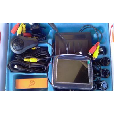 """Парктроник с цветен дисплей 3,5"""" и камера"""