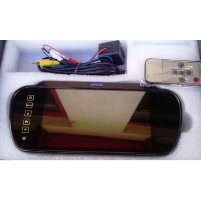 """Парктроник с цветен дисплей 7"""" в огледало и камера"""