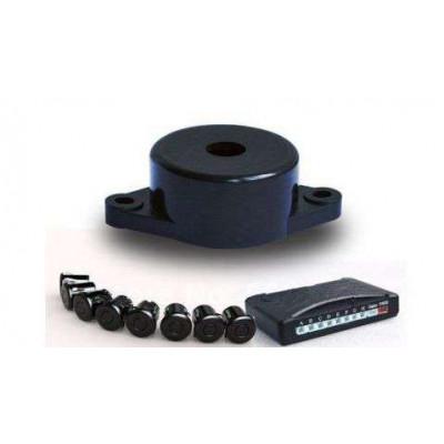 Парктроник с 8 сензора и звукова сигнализация - сребристи датчици