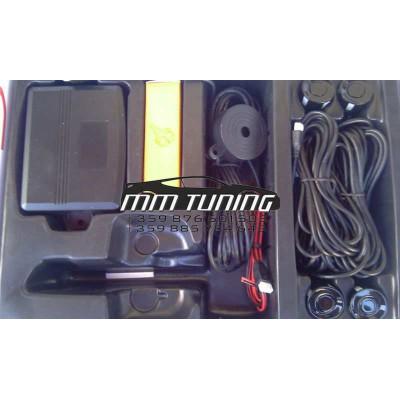 Парктроник със звук - със сребирсти датчици