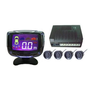 Парктроник с LED дисплей 3 Инча - черни датчици