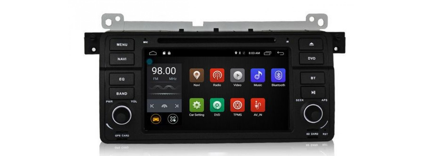 BMW Е46 - Навигация Андроид 10.1 Мултимедия