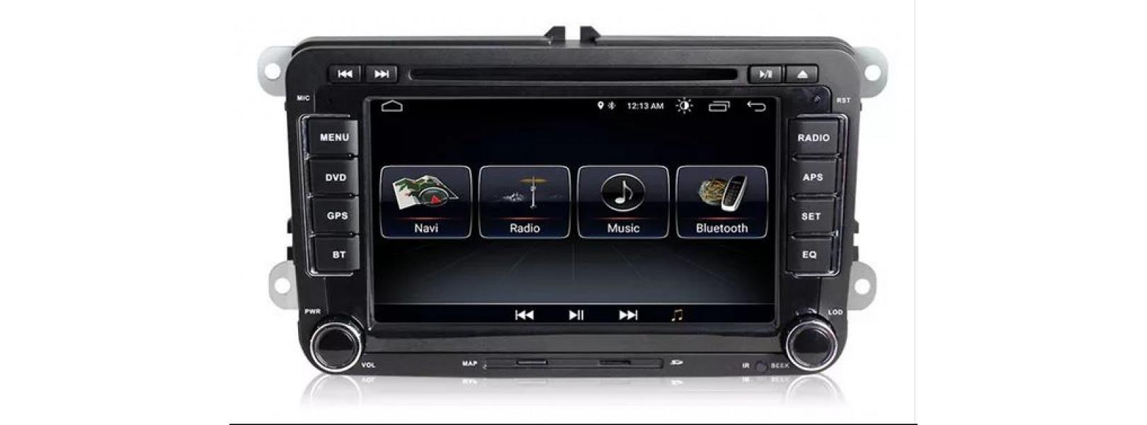 Volkswagen и Skoda RNS 510 - Навигация Андроид 10.1 Мултимедия