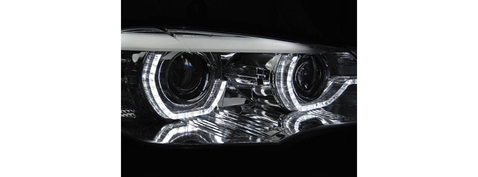 Кристални фарове BMW X5 E70 (2007-2010) - 3D Design