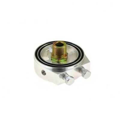 Адаптор на сензора за налягане на маслото и температура на маслото RACES сребърен