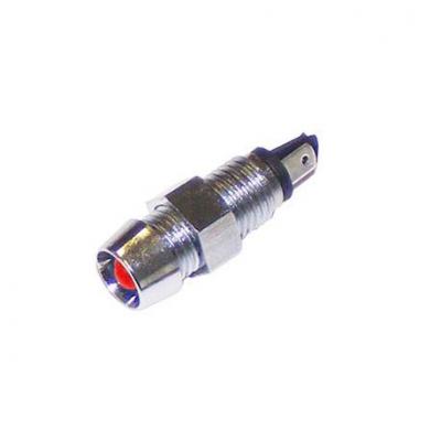 Индикатор 12V LED, chrome 8,2mm