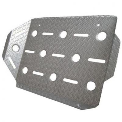 Класическа подложка за крака на пътнически седалки Alu