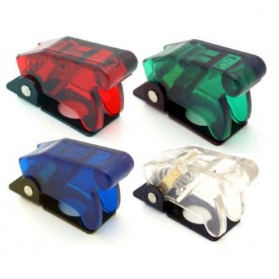Прозрачен капак за превключвател - различни цветове